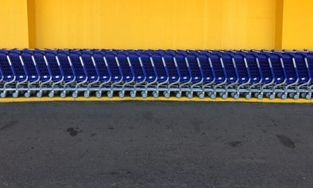 With the new addition of Walmart+, they might need to add more shopping carts!